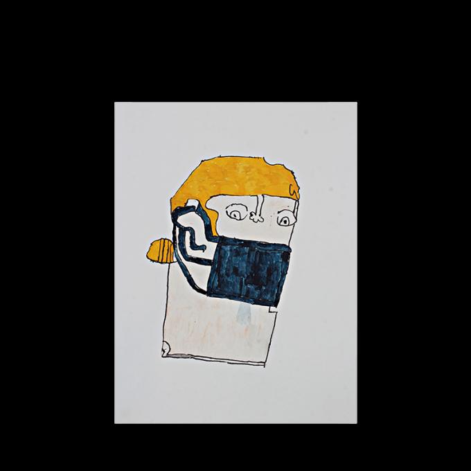 Mit Maske! Postcards
